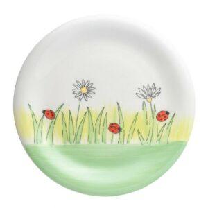 Mila Frühlingserwachen Teller - Geschirr - Keramik - Marienkäfer Teller 84225