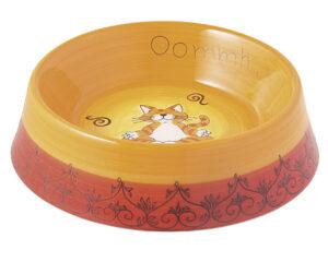 Mila Futternapf Oommh Yoga Katze - Keramik - Futternapf Katze