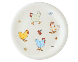 Mila Hühner Teller - Geschirr - Keramik