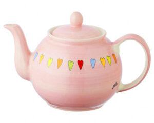 Mila Herzen Kanne 1,2L Teekanne Keramik