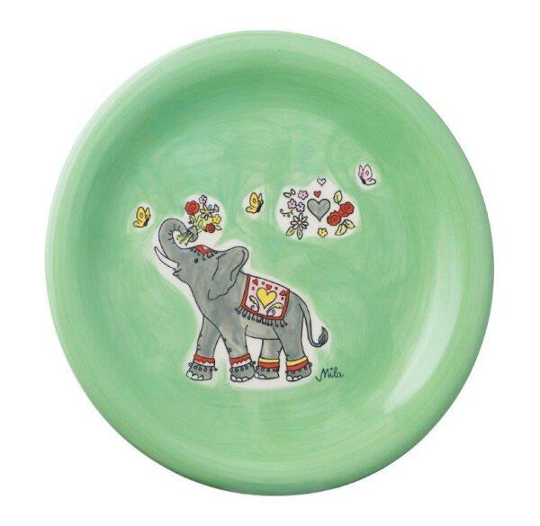 Mila Jumbo Teller Elefant - Geschirr - Keramik