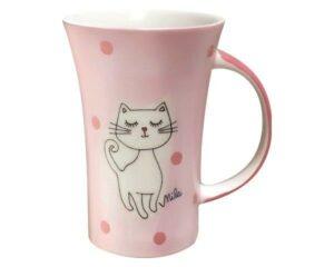 Mila Katze Mizzi Coffee Pot - 500 ml - Keramik - großer Kätzchen Becher