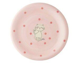 Mila Katze Mizzi Teller - Geschirr - Keramik - Kätzchen Teller