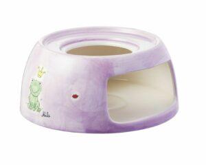 Mila Kiss Me Stövchen mit Froschkönig - Teelicht Untersatz für Teekanne 91578 flieder