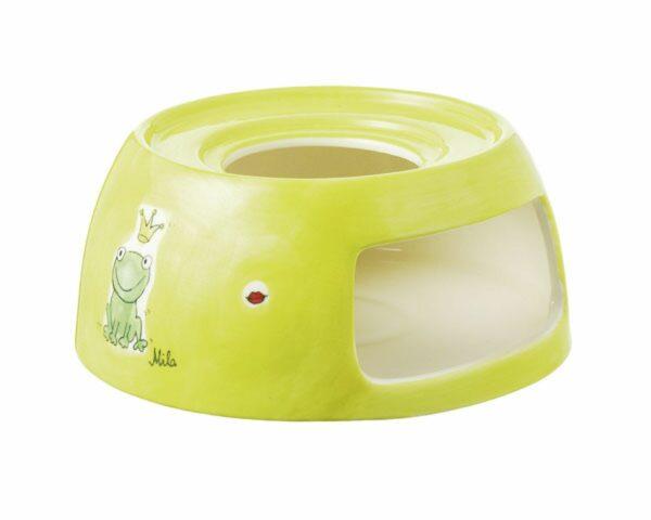 Mila Kiss Me Stövchen mit Froschkönig - Teelicht Untersatz für Teekanne 91579