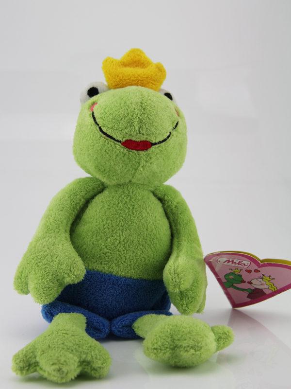 Mila Kuscheltier Froschkönig.