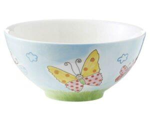 Mila Lovely Butterflies Schale - Keramik Schmetterling Schale