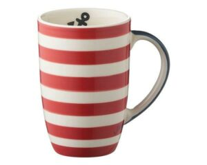 Mila Maritim Designbecher - 230 ml - Tasse - Henkelbecher - Keramik