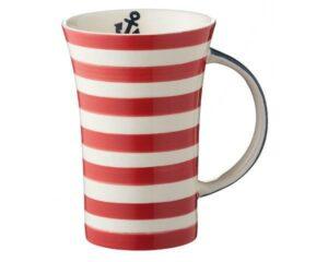 Mila Maritim Coffee Pot – 500 ml – Keramik - großer maritimer Becher