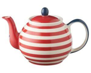 Mila Maritim Kanne 1,2 L - Keramik große maritime Teekanne