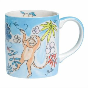 Mila Monkey Becher Affe - 280ml - Keramik - Mila 80214