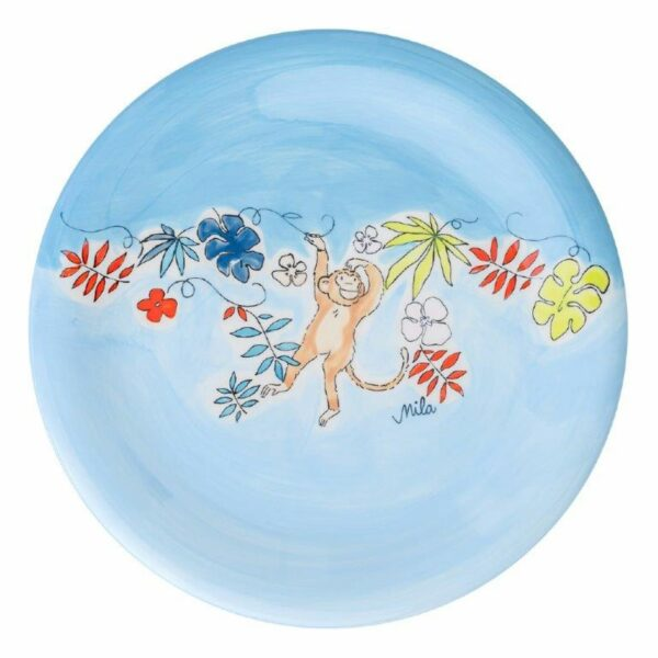 Mila Monkey Teller - Keramik - Affenteller 84214
