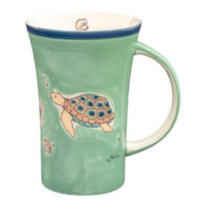 Mila Ocean Love Coffee Pot - Keramik - Meeresschildkröte Becher 500 ml 82237