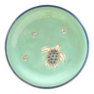 Mila Ocean Love Teller - Keramik - Schildkröte Teller Meeresschildkröte -84237
