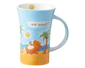 Mila Yoga Katze Oommh … und tschüß!!! Coffee Pot 500 ml