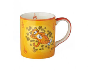 Mila Oommh.. Verschnaufpause Becher Katze - Keramik Becher 280 ml 80195