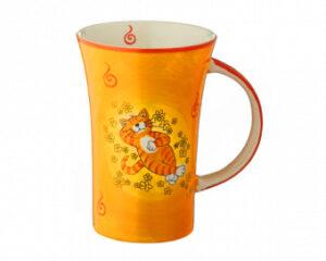 Mila Oommh.. Verschnaufpause Coffee Pot Katze - Keramik Becher 500 ml f 82195