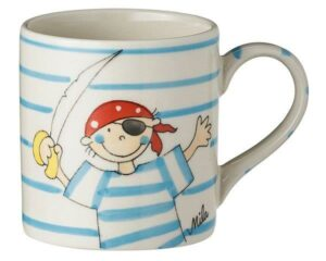 Mila Pirat Kinderbecher - 180 ml - Tasse - Keramik