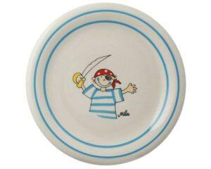 Mila Pirat Teller - Geschirr - Keramik