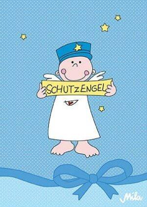 Mila Postkarte Schutzengel - Engel Karte Junge
