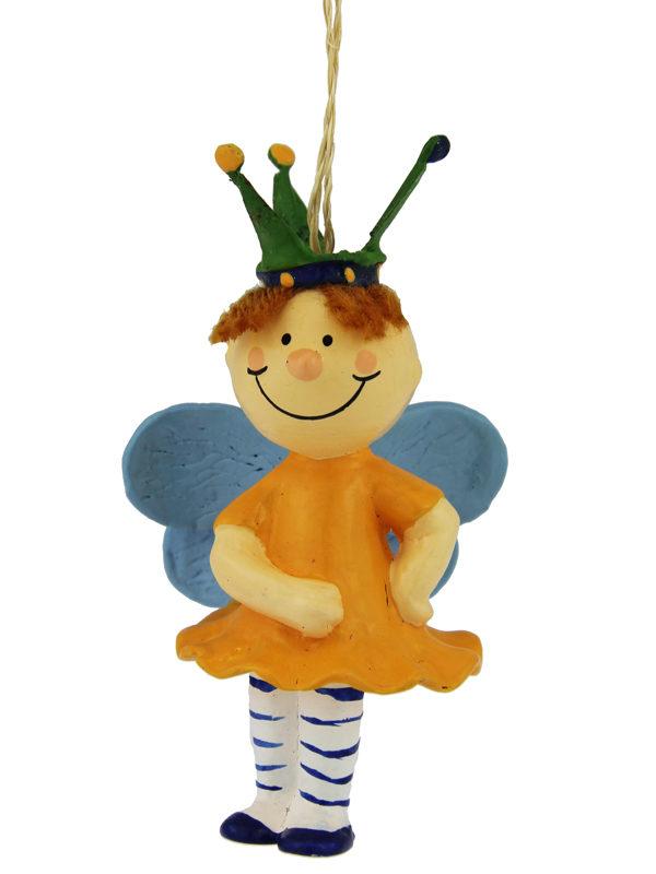 Mila Prinzessin Figur hängend - gelb