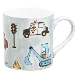 Mila Road Traffic Becher - Keramik - Fahrzeuge Becher 80232 79232