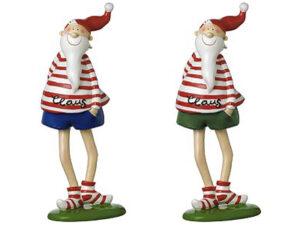 Mila Santa Claus - lustige Weihnachtsmann Figur 45475