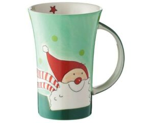 Mila Santa Coffee Pot - 500 ml - Keramik - XXL Weihnachtsmann Becher 82170
