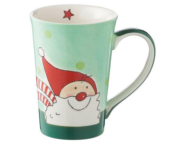 Mila Santa Teebecher - 350 ml - Keramik - Weihnachtsmann Teebecher 81170
