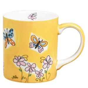 Mila Schmetterlinge Becher - 280 ml - Keramik 80226