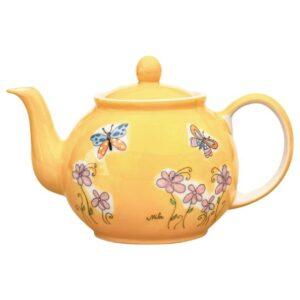Mila Schmetterlinge Kanne 1,2L - Teekanne - Keramik 94226