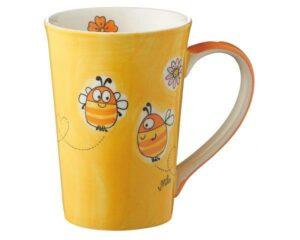 Mila Summ Summ Bienen Teebecher - Keramik - Becher - 350 ml