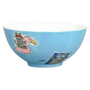 Mila Summer Cats Schale - Keramik - lustige Katzen Schale 85229