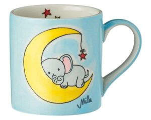 Mila Sweet Dreams Elefant Kinderbecher - 180 ml - Tasse - Keramik