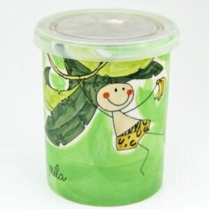 Mila Tarzan & Jane - Vorratsdose - Keramik
