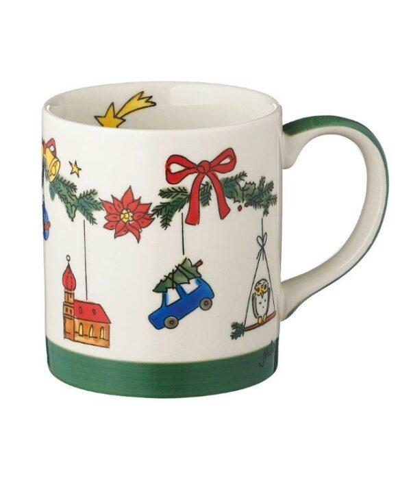 Mila Weihnachtszauber Becher - 280 ml - Keramik - Adventsbecher 80188