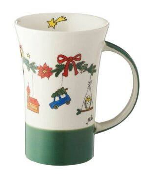 Mila Weihnachtszauber Coffee Pot - 500 ml - Keramik - XXL Adventsbecher 82188