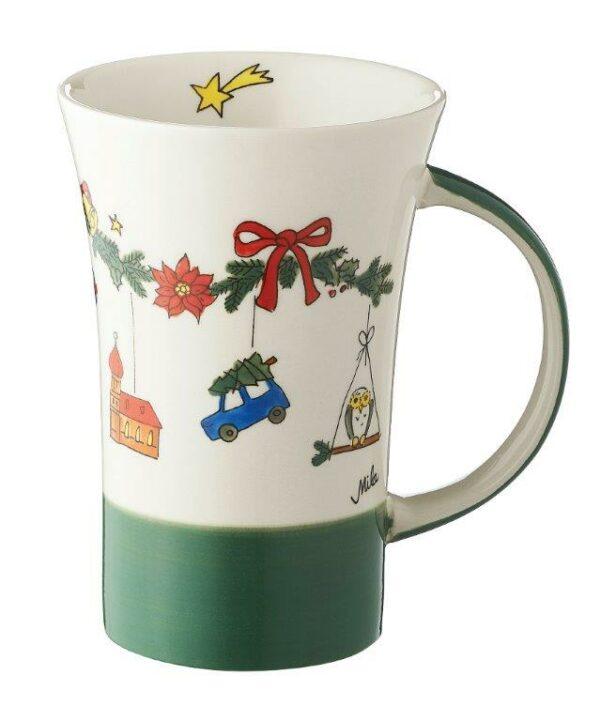 Mila Weihnachtszauber Coffee Pot - 500 ml - Keramik - XXL Adventsbecher 82188