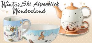 Winter, Ski, Alpenblick