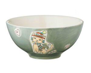 Mila Winterkatze Schale - Geschirr - Keramik