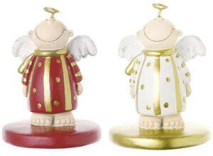 Mila mini Engel Himmelsbote - Deko Schutzengel Figur mini aus Resin