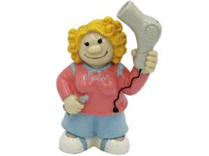 Mini Figur Friseur - Frisörin Dekofigur