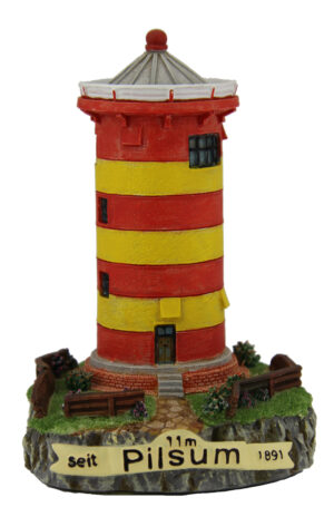 Miniatur Pilsumer Leuchtturm – Wahrzeichen Ostfriesland