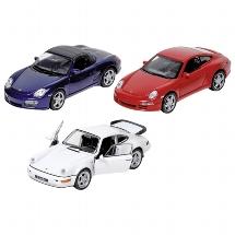 Modellauto Porsche, Spritzguss,