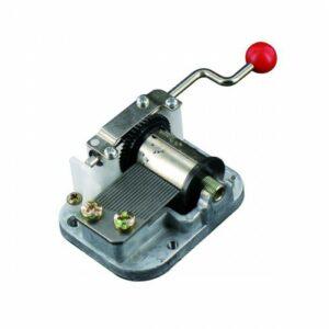 kleine Drehorgel Spieluhr - Mini Musik Box 18 Noten Handkurbel