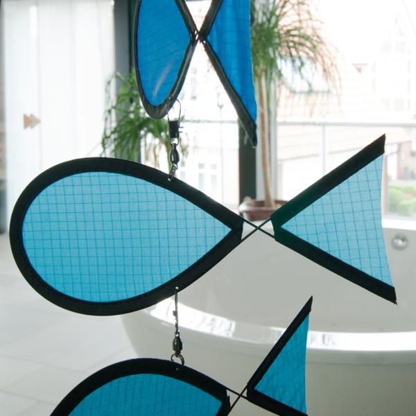 Tambouri Regenbogenfische - Windspiel - Fensterdekoration - Fisch Mobile