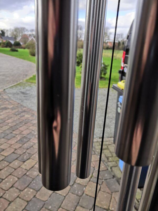 XXL Klangspiel mit 6 Klangröhren - Metallklangspiel Windspiel 160 cm