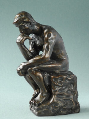 "Der Denker Skulptur Pocket Art Rodin ""Le Penseur"" in Geschenkbox"