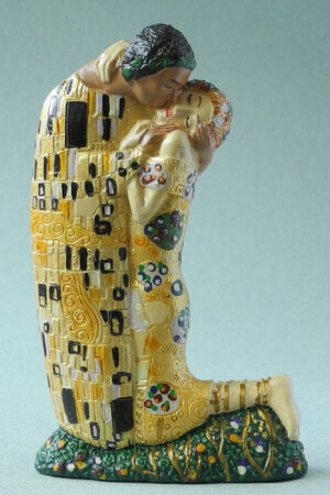 Der Kuss Klimt Skulptur in Geschenkbox - Parastone Miniature Museums Collection