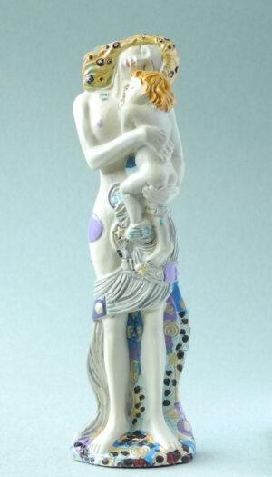 Die drei Lebensphasen der Frau Skulptur Klimt 1905 - Parastone Museums Collection in Geschenkbox